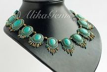 | BEAD EMBROIDERY | Necklaces