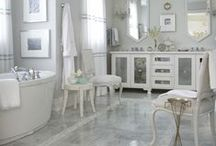 everything about bathrooms / powder/vanity room