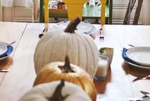 holiday: fall. / Crafts & decorating for the fall // Halloween, Thanksgiving, etc.