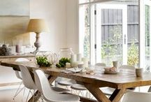 Home - a table for all occasions / The table - a place we all sit up to, work on and eat on... / by kkbelle NZ
