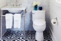 home: bathrooms. / Bathroom design and ideas.