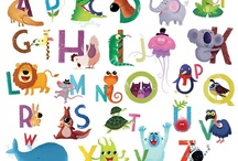 Alphabet Art / by Merrilee Larson