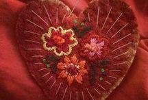 Bordado - embroidery - brodé - ricamo - stickerei / Muestras de este oficio manual que, excepcionalmente, se convierte en un arte. / by Maria Tenorio