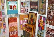 Craft Show Displays & Ideas