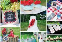 Picnic Wedding Ideas / Picnic & Garden wedding ideas