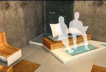 """An Eclectic Bathroom / Gli studenti del Master in Design 2012 di Domus Academy hanno esplorato un nuovo concetto di """"bagno"""" proponendo soluzioni funzionali e nuovi modi di vivere l'ambiente.  Il risultato? 6 progetti assolutamente innovativi e ricchi di spunti.  Lasciatevi ispirare, questo è il bagno di domani."""