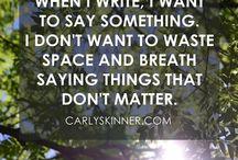 blog: carlyskinner.com.