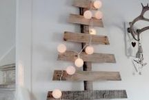 Natale, un albero... diverso. / Tutte le ispirazioni per festeggiare il #Natale con una #decorazione diversa dal solito! #christmas #christmastree #leroymerlinita