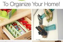 Room Organization / by Taylor Tomosovich