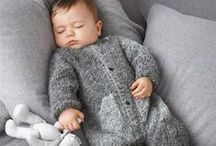Kid's knits and crochet / Children's knit and crocheted items.