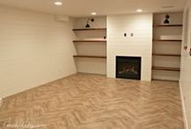 Basement living room ideas. / by 4men1lady