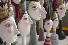 Paper Mache & Masks / by Mary Mollica of The Decorative Paintbrush