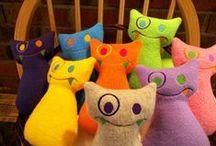 Art Dolls & Monsters (textile)