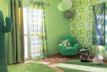 Un Mondo Verde / Le nostre ispirazioni in #verde: progetti, decorazioni, ambientazioni. #colore #green #leroymerlinita