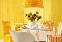 Un Mondo Giallo / Il colore più vivace che ci sia, in tutte le sue declinazioni: dalle pareti, ai mobili, a tutti gli elementi di decorazione che la fantasia ti suggerisce! #giallo #yellow #leroymerlinita