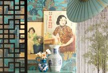 Oriental Styles / Oriental decor, styles, artwork, every day items, decoration, themes, etc / by Rosalie Savage