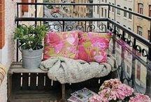 """Il tuo balcone! / Idee, ispirazioni e qualche buon consiglio per rendere il tuo balcone """"la stanza in più"""" della casa!"""
