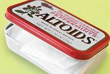 Altoid Tins / Love Altoids but love the many uses for these great little tins