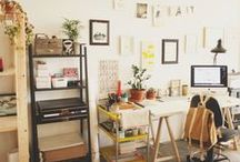 ideal workspace / ideas and inspiration for creating my favourite work space