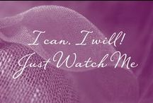 Just Watch Me! / I Can, I Will, Just Watch Me ....  www.confidencebeads.com
