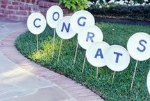 Graduation Fun / It is spring and spring is Graduation season.. Here are some of our favorite tips on parties, presents and everything else!