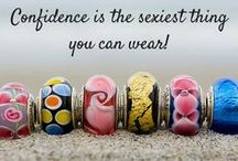 Confidence / We are all about loving yourself and knowing that it all begins with the confidence to try. www.confidencebeads.com