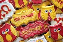 Chi Omega / Flourish ..... The Chi Omega collection celebrates all things Chi Omega. Brought to you by Beads for a Cause (A division of Confidence Beads). We would love to see some pictures of you wearing your Chi Omega Collection. Email me at lisa@confidencebeads.com to contribute to the board. www.beadsforacause.com