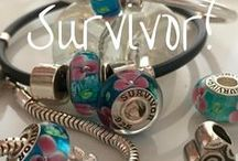Survivor / You are a Survivor and you should celebrate it every day of your life.    www.confidencebeads.com
