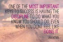 Success .. / The struggle, the failures, the accomplishments, the joy.