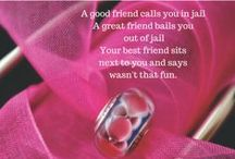 Your best girl friends! / Your buddy, your confidante, partner in crime. She deserves the perfect gift!