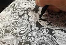 Zentangle Tiles & ZIA