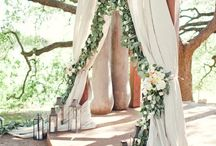Tying the knot. / Reception, bridesmaid, flowers and decor ideas. / by Daron Jermstad