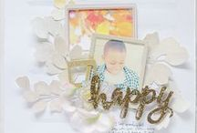 Scrapbook Layouts - White Space