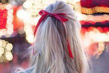 hair | bows & bardot / bardot beehive hairstyles, ponytails, and lots of retro bows.