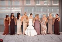 Beautiful Bridesmaids / A collection of Villa Russo's (Elegant Italian Style Wedding Venue in Queens, NY) favorite bridesmaids dresses.