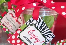Christmas Gift Wrapping Ideas / Personalized Gift Tags and Creative Wrapping Ideas make your gifts unique and fun for all ages! / by Michelle Wise @ That Party Chick