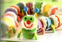 Caterpillar Birthday or Baby Shower Ideas / So many adorable possibilities for decorating and food for a Caterpillar Themed Birthday Party or Baby Shower! / by Michelle Wise @ That Party Chick