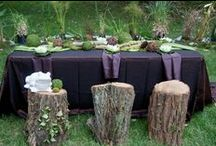 Alligator Party Ideas / Green is the color scheme for this Alligator Themed Party! / by Michelle Wise @ That Party Chick