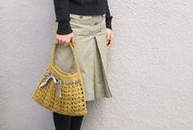 Crochet Bags, Bowls, Boxes