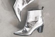 adore | metallic shoes / metallic, shiny and glitter shoes.