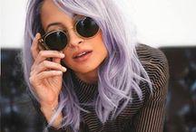hair | pastel locks / pastel coloured hairstyles.