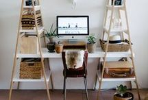 interior | workspaces / stylish working spaces and desk areas.