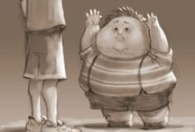 Fat Kids / Fat Kids Characters design & reference images.