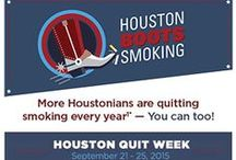 "Houston Boots Smoking / Texas Heart Institute joins ""Houston Boots Smoking"" citywide awareness campaign to discourage smoking, Sept. 21st - 25th. / by Texas Heart Institute"