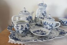 Collector- Blue Danube n more / Blue and white decoration, moslty Blue Danube pattern / by Wanda Caro
