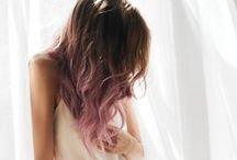 hair | dipped ends