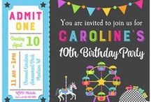 Amusement Park Party Ideas / Roller coasters, Ferris wheels, and Carousels!  Oh My! / by Michelle Wise @ That Party Chick