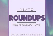 ✎ Emmmmerz - Recipe Roundups / Recipe collections, cookbooks, blogger roundup, menu monday