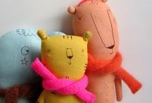best toys ever / unique, modern, playful stuffed plush animals, wooden toys, and other goodies / by Mari - Small for Big