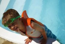 Swim Training Products for Kids / Swim Steps is our line of swim training products for kids. From water introduction to swimming, we can help you take your kids through all the learn to swim stages. Access expert articles, water safety tips, and parent reviews at http://www.TeachMeToSwim.com.  / by SwimWays